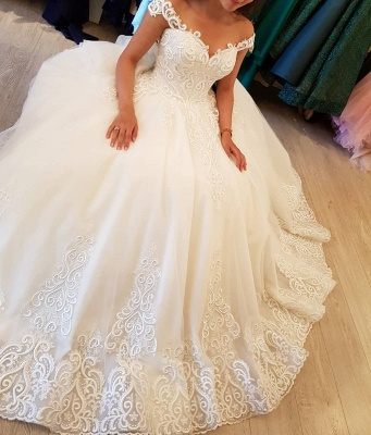 Designer Brautkleider Mit Spitze | Tüll Hochzeitskleider Online_3