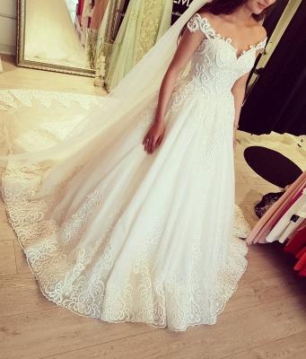 Designer Brautkleider Mit Spitze | Tüll Hochzeitskleider Online_1