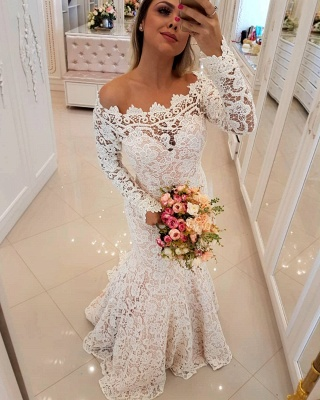 Designer wedding dresses with sleeves lace wedding dresses cheap online_1