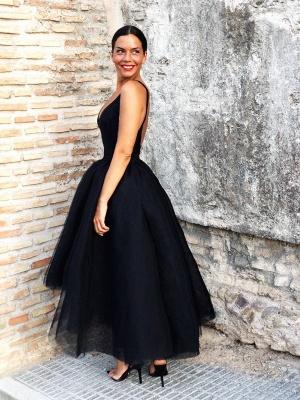 Fashion Schwarz Abendkleider Kurz | Cocktailkleider Günstig Online_2