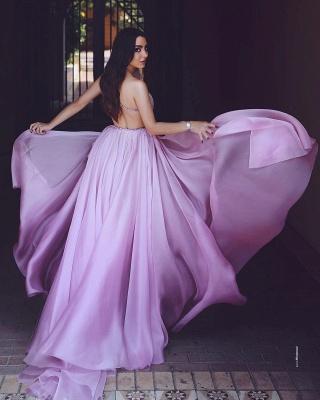 Purple Evening Dresses Long Cheap Floor Length Evening Dresses Online_2