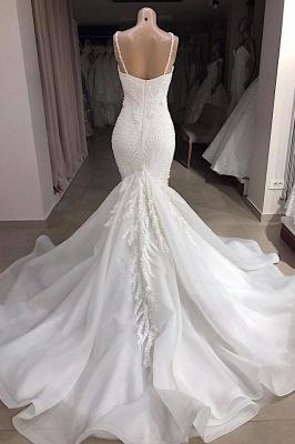 Fashion Brautkleid Meerjungfrau Online | Hochzeitskleid mit Spitze Günstig_3
