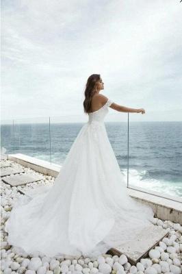 Designer Brautkleider mit Spitze | Hochzeitskleider A Linie Brautmoden_2