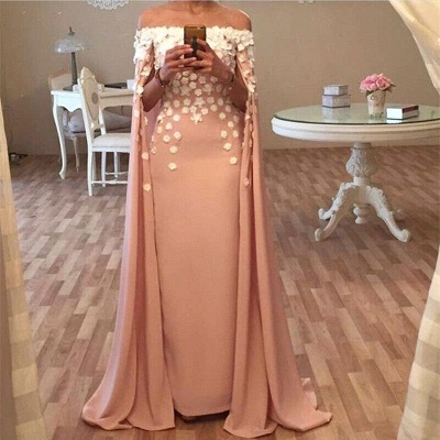 Cheap Prom Dresses Evening Dresses Long Satin Off Shoulder Floor-Length Evening Wear_2