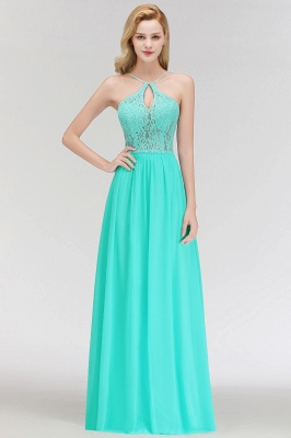 Cheap Bridesmaid Dresses Long Mint Green Erui Dresses With Lace_3