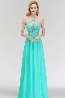 Cheap Bridesmaid Dresses Long Mint Green Erui Dresses With Lace_4