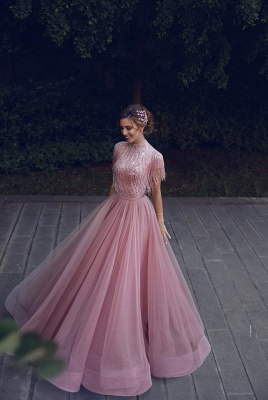 Luxury evening dresses long pink | Buy Sheath Dresses Prom Dresses Online_4