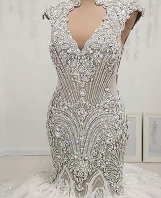 Designer wedding dresses luxury | Lace Wedding Dresses Mermaid Online_1