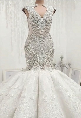 Designer wedding dresses luxury | Lace Wedding Dresses Mermaid Online_4