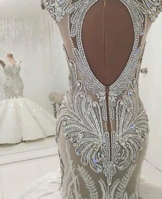 Designer wedding dresses luxury | Lace Wedding Dresses Mermaid Online_5