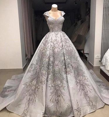 Luxus Brautkleider Prinzessin | Hochzeitskleider Online kaufen_3