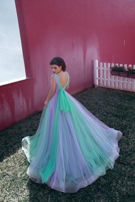 Designer Evening Dresses Long V Neck | Buy evening wear online_2