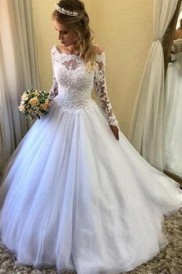 Wunderschöne Brautkleider Mit Ärmel | Hochzeitskleider Mit Spitze Online_1
