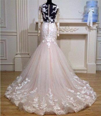 Designer Wedding Dresses With Sleeves Tulle Dresses Wedding Dresses Lace Online_2