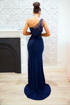 Festive evening dresses long royal blue mermaid lace evening wear online shop_2