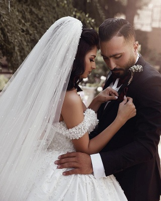Fashion Hochzeitskleider Prinzessin Creme Bodenlang Brautkleider Günstig Online_3