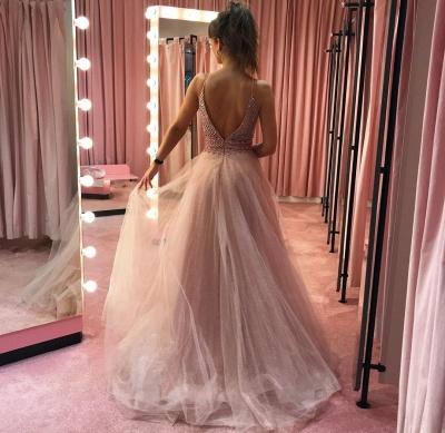 Designer Evening Dresses Long Pink | Prom dresses evening wear online_3