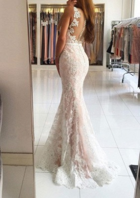 Elegant White Evening Dress Long Cheap | Top evening wear online_3