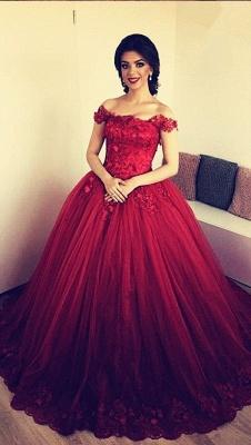 Designer Rote Abendkleider Prinzessin | Abendmoden Online Kaufen_1