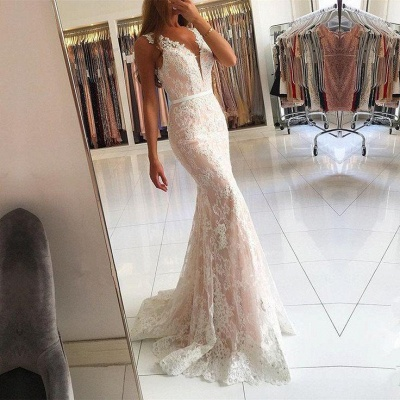 Elegant White Evening Dress Long Cheap | Top evening wear online_2