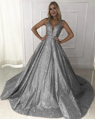 Designer Evening Dresses Cheap | Prom dresses long glitter online shop_1