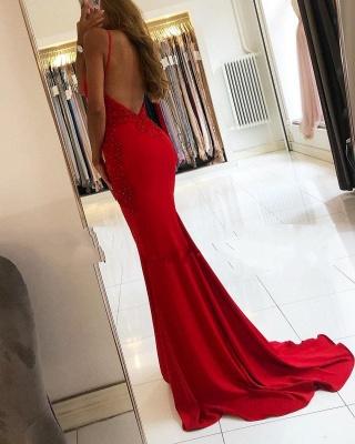 Designer Evening Dresses Long Red | Prom Dresses Cheap Online_2