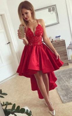 Rote Cocktailkleider Kurz Vorne Lang Hinter Abiballkleider Online