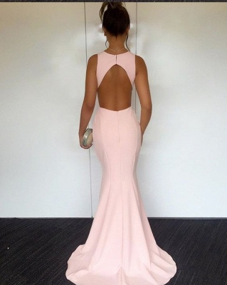 Elegant pink evening dresses long cheap satin prom dresses order online_2
