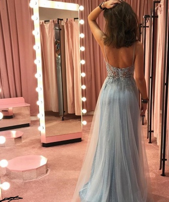 Elegant prom dresses long glitter | Designer evening dresses cheap_3