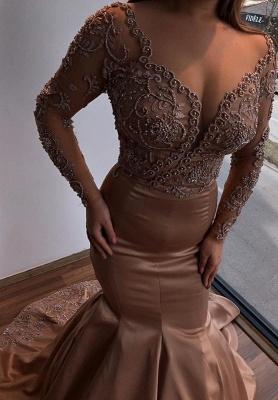 Luxus Abendkleider Mit Ärmel | Abendmoden Lang Günstig_1