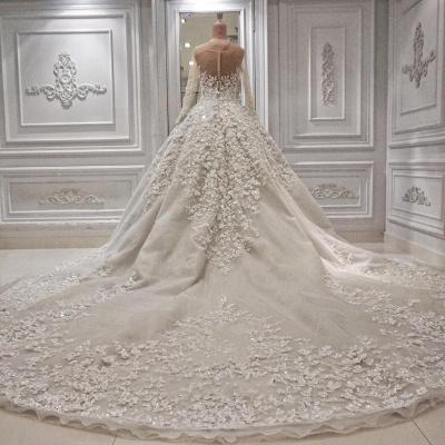 Luxus Brautkleider Prinzessin | Hochzeitskleid Mit Ärmel_3