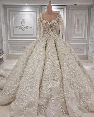 Luxus Brautkleider Prinzessin | Hochzeitskleid Mit Ärmel_1