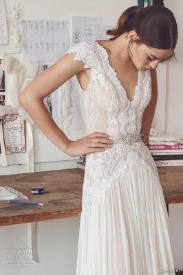 Design Hochzeitskleider Mit Spitze Günstig Etuikleid Brautkleider Online Bestellen_1