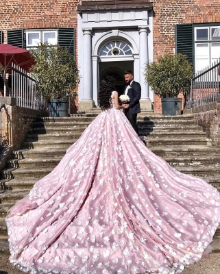 Luxury wedding dress pink | Wedding dresses Princess Onlne_2