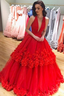 Sexy evening dresses long red lace | Evening dresses floor length cheap online_1