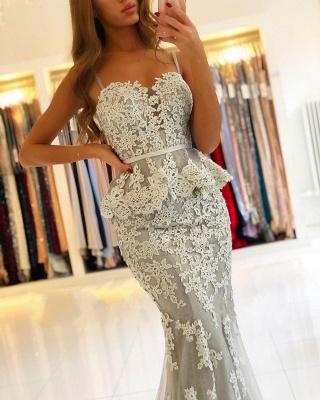 Elegante Abendkleider Lang Spitze | Abendmoden Abiallkleider Online Kaufen_4