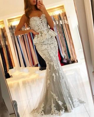 Elegante Abendkleider Lang Spitze | Abendmoden Abiallkleider Online Kaufen_1