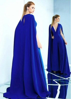 Modern evening dresses long blue | Formal evening wear online_2