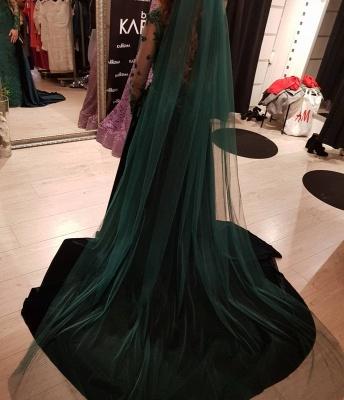 Elegante Grüne Abendkleider | Abendkleid Mit Ärmel Online_3