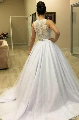 2021 wedding dresses with lace | Wedding dresses princess cheap_2