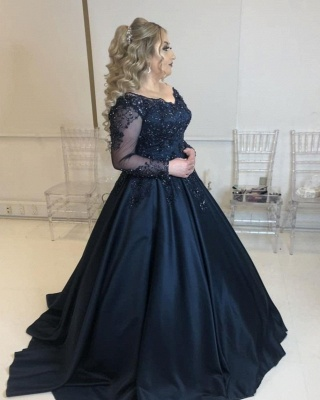 Cheap Evening Dresses Long With Sleeves | Prom dresses sale online_1