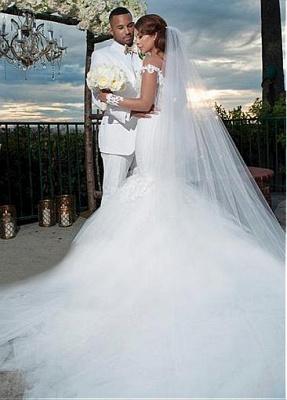 Fashion Brautkleid Mit Ärmel | Tüll Hochzeitskleid Mit Spitze_3